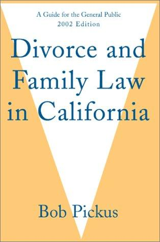 Download Divorce and Family Law in California