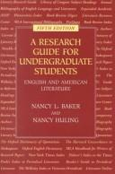 Download A research guide for undergraduate students