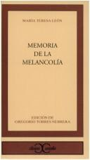 Download Memoria de la melancolía