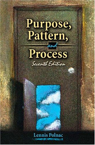 Download Purpose, Pattern and Process