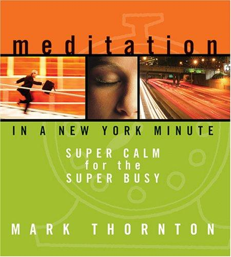 Download Meditation in a New York Minute