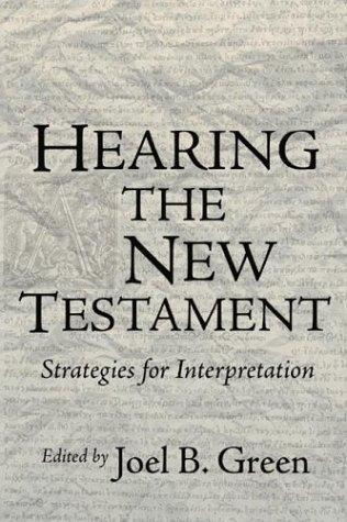 Download Hearing the New Testament