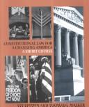 Constitutional law for a changing America.