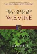 Download Collected writings of W.E. Vine