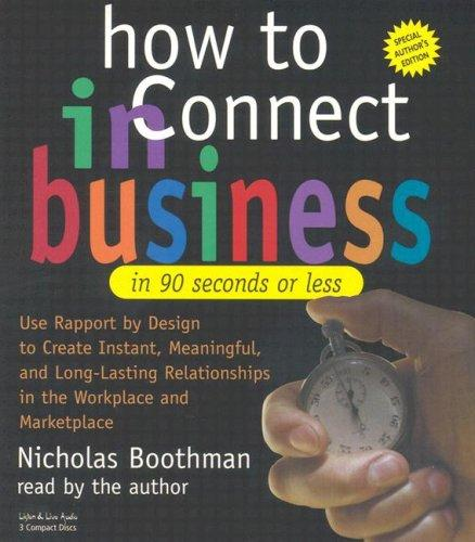 Download How to Connect in Business in 90 Seconds or Less