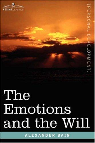 Download The Emotions and the Will