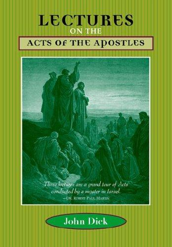 Download Lectures on the Acts of the Apostles