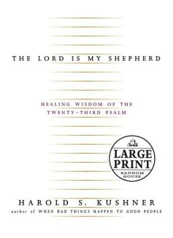 The Lord Is My Shepherd (Random House Large Print)
