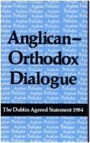 Download Anglican-Orthodox Dialogue