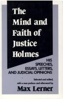 Download The mind and faith of Justice Holmes