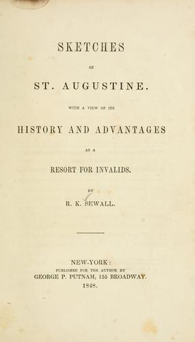 Download Sketches of St. Augustine