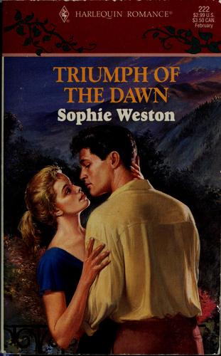 Triumph of the dawn by Sophie Weston