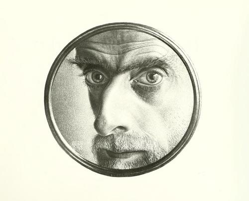 Photo of M. C. Escher