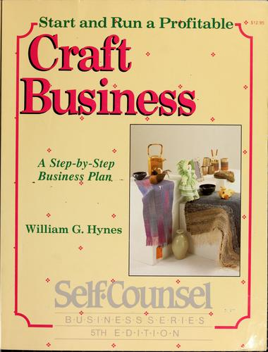Download Start and Run a Profitable Craft Business