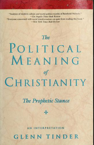 The political meaning of Christianity