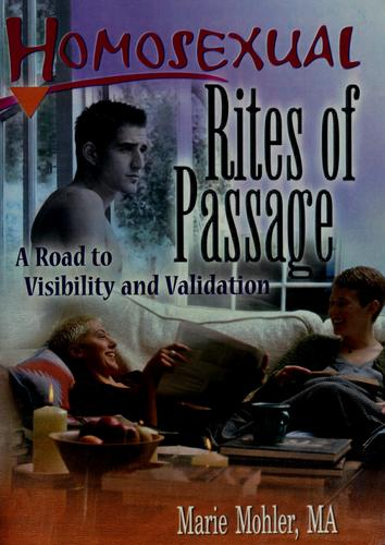 Download Homosexual rites of passage