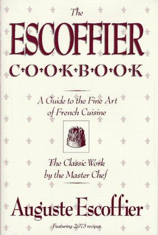 Download The Escoffier cook book