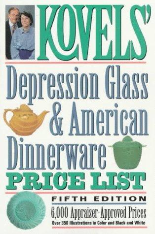 Download Kovels' depression glass & American dinnerware price list