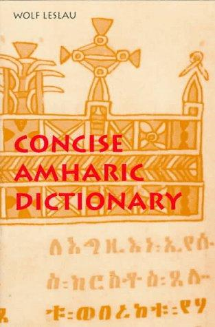 Download Concise Amharic Dictionary