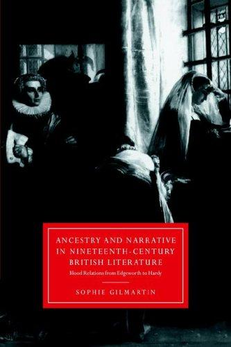 Download Ancestry and Narrative in Nineteenth-Century British Literature