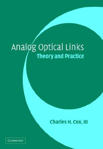 Image for Analog Optical Links: Theory and Practice