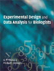 Experimental Design and Data Analysis for Biologists [Paperback]