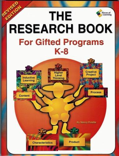 Research Book for Gifted Programs K-8