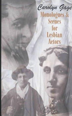 Download Monologues & Scenes for Lesbian Actors