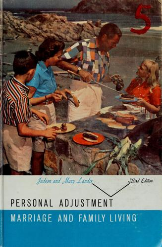 Download Personal adjustment, marriage, and family living.