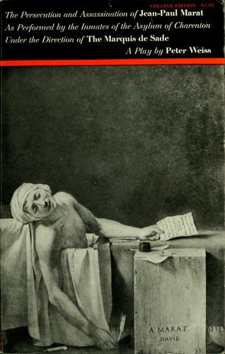 The persecution and assassination of Jean-Paul Marat