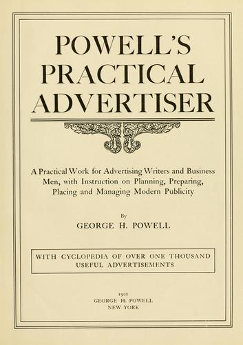 Download Powell's practical advertiser