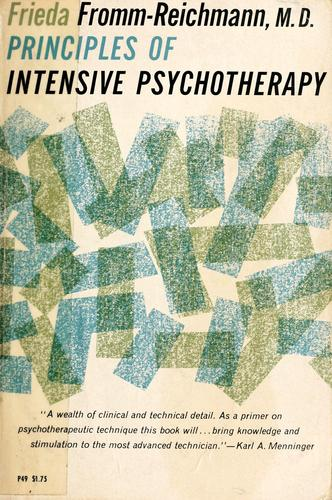 Download Principles of intensive psychotherapy