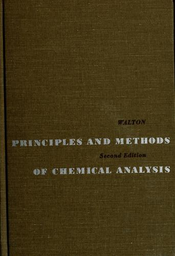 Download Principles and methods of chemical analysis