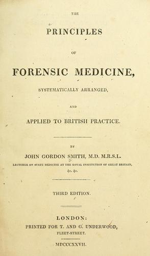 Download The principles of forensic medicine