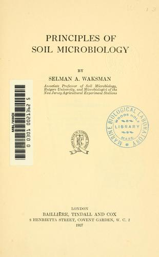 Download Principles of soil microbiology