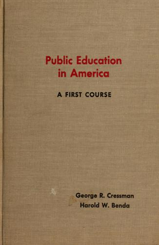 Public education in America