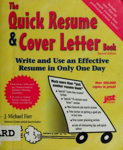 Download The quick resume & cover letter book
