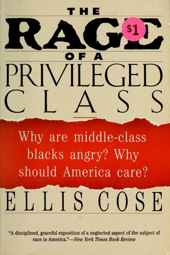 Download The rage of a privileged class