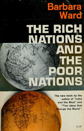 The rich nations and the poor nations.