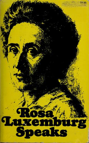 Download Rosa Luxemburg speaks