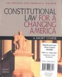 Download Constitutional Law for a Changing America
