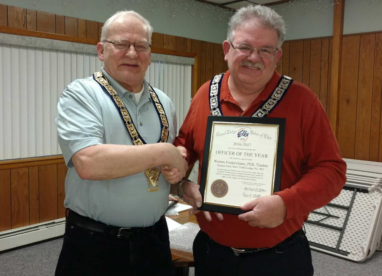 Annual honors handed out at Seneca Falls Elks Lodge (photos)