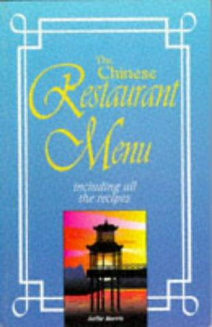 Chinese Restaurant Menu Recipes (Restaurant Recipes) by Sallie Morris