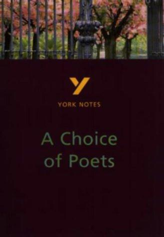 "York Notes on ""Choice of Poets"" by Paul Pascoe"