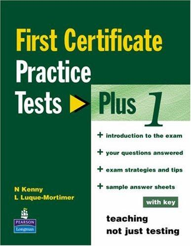 Practice Tests Plus Fce (FCE) by Stanton
