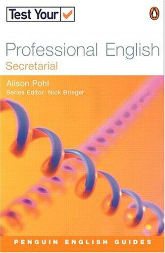 Test Your Professional English - Secretarial (Penguin English Guides) by BRIEGEN