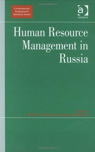 Human resource management in Russia by