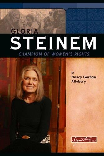 Gloria Steinem by Nancy Garhan Attebury