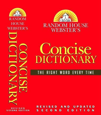 Random House Webster's Concise Dictionary by Random House