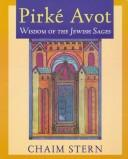 Pirke Avot by Chaim Stern